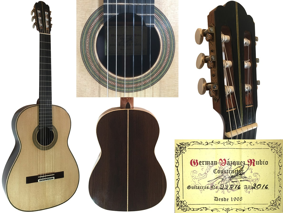 "NEW GV Rubio ""Hauser Model"" Spruce/fan braced"