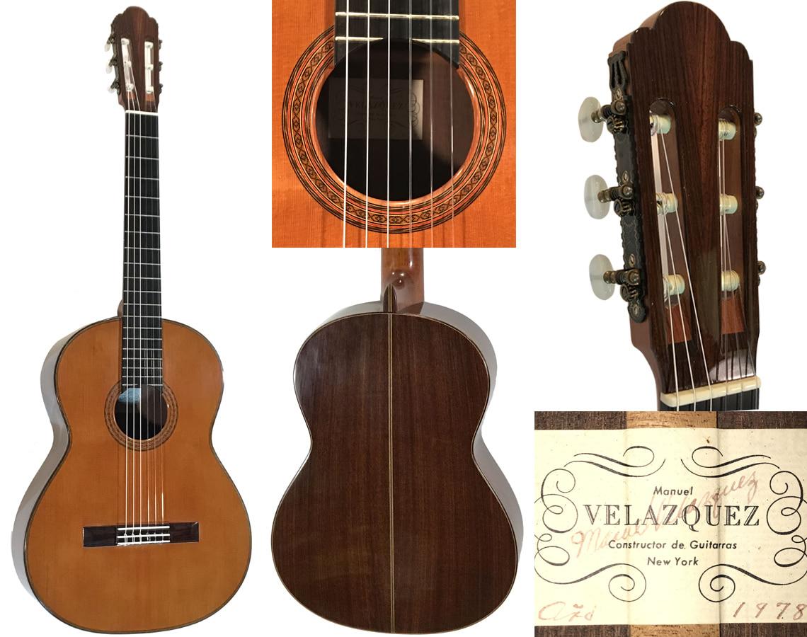 """1978 Manuel Velazquez """"rare"""" Cedar/fan braced"""