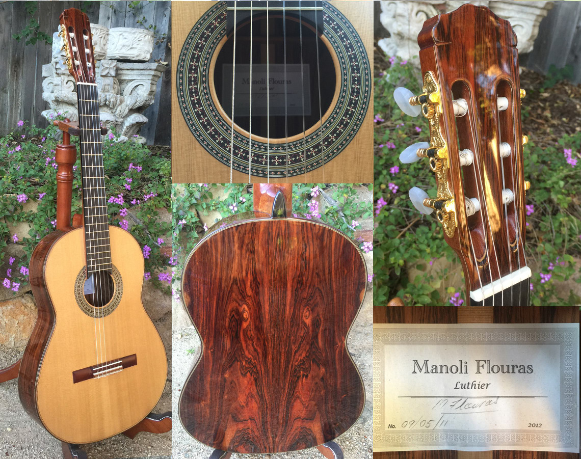 2012 Manoli Flouras Cedar/lattice braced