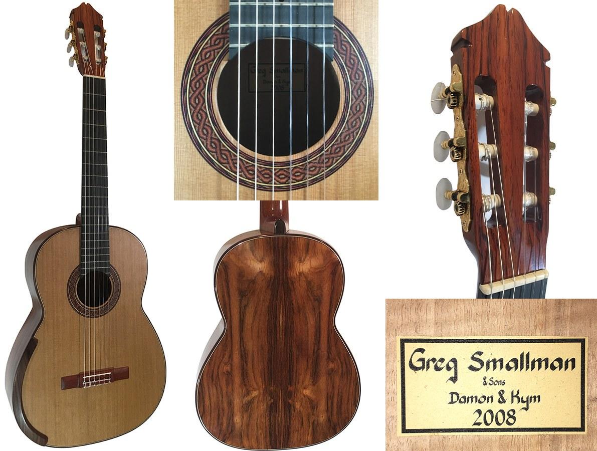 2008 Greg Smallman & sons Cedar/lattice braced