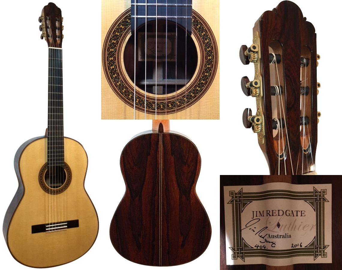 NEW JIm Redgate Spruce Double Top
