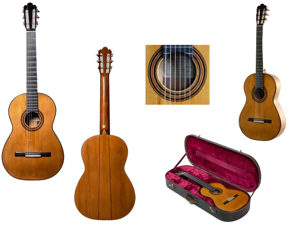 Antonio De Torres 1890, #141 | Classic Guitars International